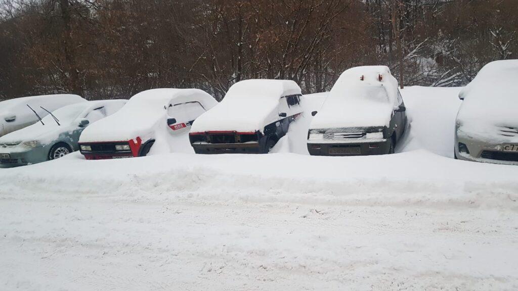 Снежный коллапс в москве